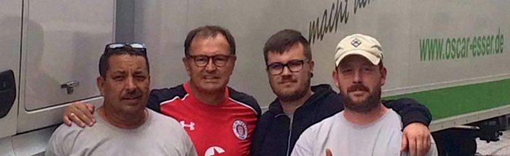 Reif für die Champions League – Ewald Lienen setzt auf das Team von Oscar Esser